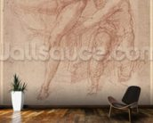 Figure Studies (red chalk on paper) wall mural kitchen preview