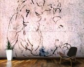 Inv. 1859 6-25-553. R. (W.56) Sketch of reclining male and child (red chalk) mural wallpaper kitchen preview