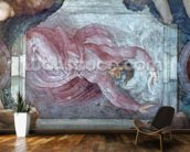 Sistine Chapel Ceiling: God Dividing Light from Darkness (pre restoration) wall mural kitchen preview