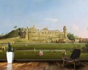 Warwick Castle, c.1748-49 (oil on canvas) wall mural kitchen preview