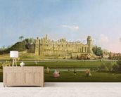 Warwick Castle, c.1748-49 (oil on canvas) wall mural living room preview