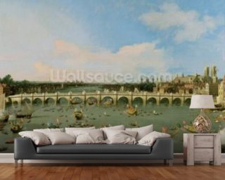 Westminster Bridge Mural Wallpaper Wallpaper Wall Murals
