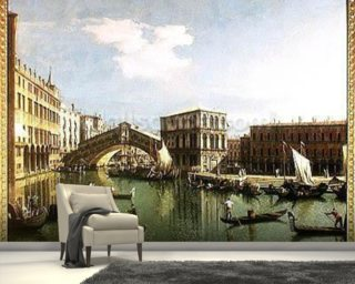 The Rialto Bridge Wallpaper Wall Murals