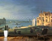 View of Venice (oil on canvas) wallpaper mural kitchen preview