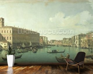 The Grand Canal from the Rialto Bridge Wall Mural Wallpaper Wallpaper Wall Murals