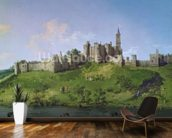 Alnwick Castle mural wallpaper kitchen preview