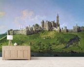 Alnwick Castle mural wallpaper living room preview
