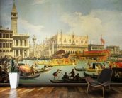 The Betrothal of the Venetian Doge to the Adriatic Sea, c.1739-30 (oil on canvas) wall mural kitchen preview