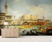 The Betrothal of the Venetian Doge to the Adriatic Sea, c.1739-30 (oil on canvas) wall mural living room preview