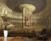 Ranelagh Gardens, the Interior of the Rotunda, c.1751 wall mural kitchen preview
