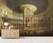 Ranelagh Gardens, the Interior of the Rotunda, c.1751 wall mural living room preview