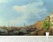 The Riva Degli Schiavoni, 1724-30 mural wallpaper in-room view