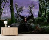 Forest Queen wallpaper mural living room preview