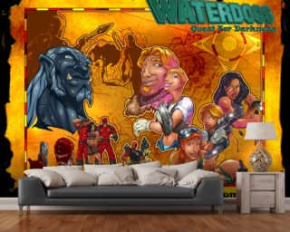 Quest For Darkness wall mural