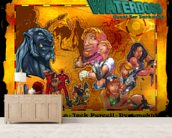 Quest For Darkness wall mural living room preview