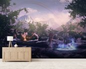 Water Elves At Play wall mural living room preview