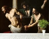 The Flagellation of Christ, c.1605-7 (oil on canvas) wall mural in-room view
