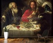 The Supper at Emmaus, c.1614-21 wall mural kitchen preview