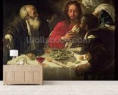 The Supper at Emmaus, c.1614-21 wall mural living room preview