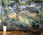 The Large Pine, 1895-97 (oil on canvas) mural wallpaper kitchen preview