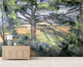 The Large Pine, 1895-97 (oil on canvas) mural wallpaper living room preview