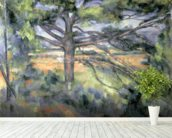 The Large Pine, 1895-97 (oil on canvas) mural wallpaper in-room view