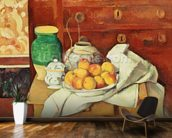 Still Life with a Chest of Drawers, 1883-87 (oil on canvas) wall mural kitchen preview