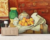 Still Life with a Chest of Drawers, 1883-87 (oil on canvas) wall mural living room preview