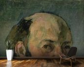 Self Portrait, c.1877-80 (oil on canvas) wall mural kitchen preview