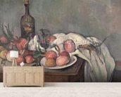 Still Life with Onions, c.1895 (oil on canvas) wall mural living room preview
