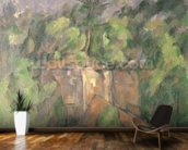 Bibemus Quarry, 1898-1900 (oil on canvas) wallpaper mural kitchen preview