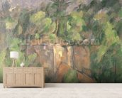 Bibemus Quarry, 1898-1900 (oil on canvas) wallpaper mural living room preview