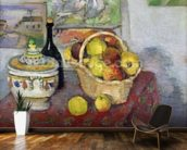 Still Life with Tureen, c.1877 (oil on canvas) mural wallpaper kitchen preview