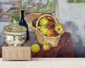 Still Life with Tureen, c.1877 (oil on canvas) mural wallpaper living room preview