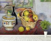 Still Life with Tureen, c.1877 (oil on canvas) mural wallpaper in-room view