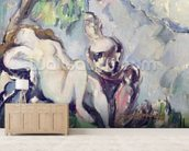 Bathsheba (oil on canvas) wallpaper mural living room preview