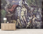 The Temptation of St. Anthony, c.1875 (oil on canvas) mural wallpaper living room preview