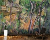 In the Park of Chateau Noir, c.1896-99 (oil on canvas) wall mural kitchen preview