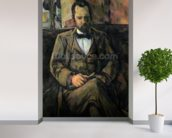 Portrait of Ambroise Vollard, 1899 (oil on canvas) wallpaper mural in-room view