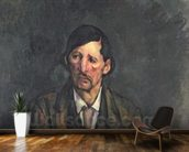 Man with Crossed Arms, c.1899 (oil on canvas) wall mural kitchen preview