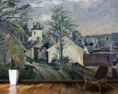 The House of Doctor Gachet (1828-1909) at Auvers, 1872-73 (oil on canvas) wallpaper mural kitchen preview