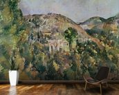 View of the Domaine Saint-Joseph, late 1880s (oil on canvas) wallpaper mural kitchen preview