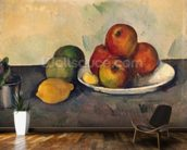 Still life with Apples, c.1890 (oil on canvas) wall mural kitchen preview