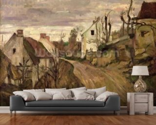 The Village Road Wall Mural Wallpaper Wallpaper Wall Murals