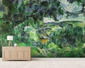 Blue Landscape, c.1903 (oil on canvas) wall mural living room preview