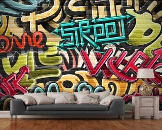 Graffiti Wallpaper Wall Murals Wallsauce ...