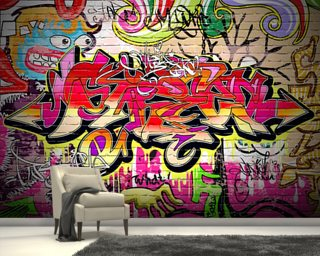 Graffiti Wall Wall Mural Wallpaper Part 89