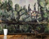 The Banks of the Marne, 1888 (oil on canvas) wall mural kitchen preview