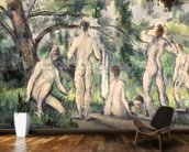 Study of Bathers, c.1895-98 (oil on canvas) wall mural kitchen preview