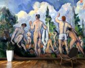 The Bathers, c.1890-92 (oil on canvas) wall mural kitchen preview